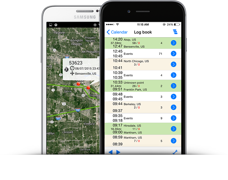Track your cargo in real time and receive security alerts on your mobile.